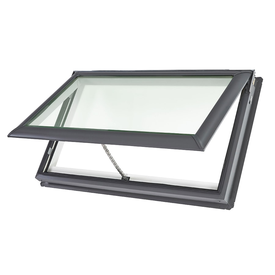 25 Captivating Ideas For Kitchens With Skylights: VELUX Venting Laminated Skylight (Actual: 47.25-in X 29.88