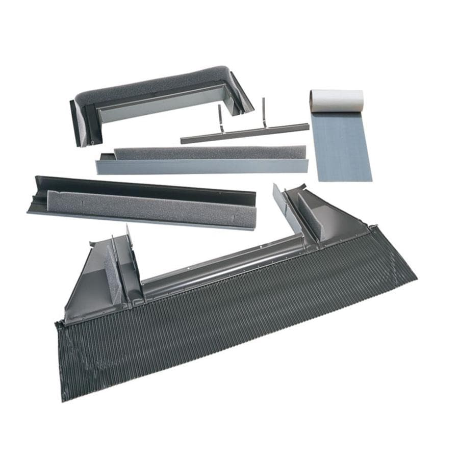 shop velux curb mount tile roof aluminum flashing kit for skylights at. Black Bedroom Furniture Sets. Home Design Ideas
