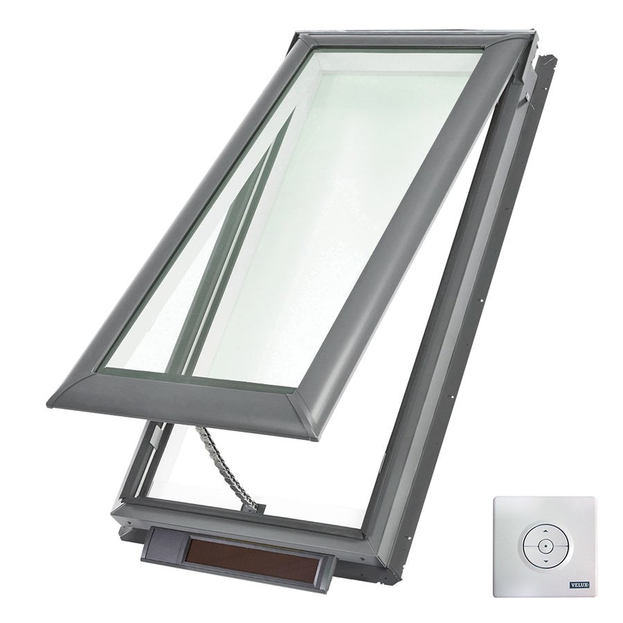 Shop velux solar powered venting laminated skylight fits for Velux glass