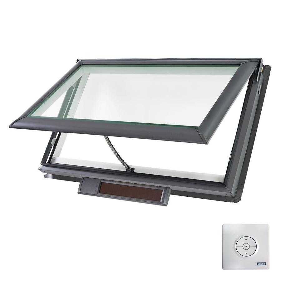 shop velux solar powered venting snowload skylight fits rough opening x. Black Bedroom Furniture Sets. Home Design Ideas