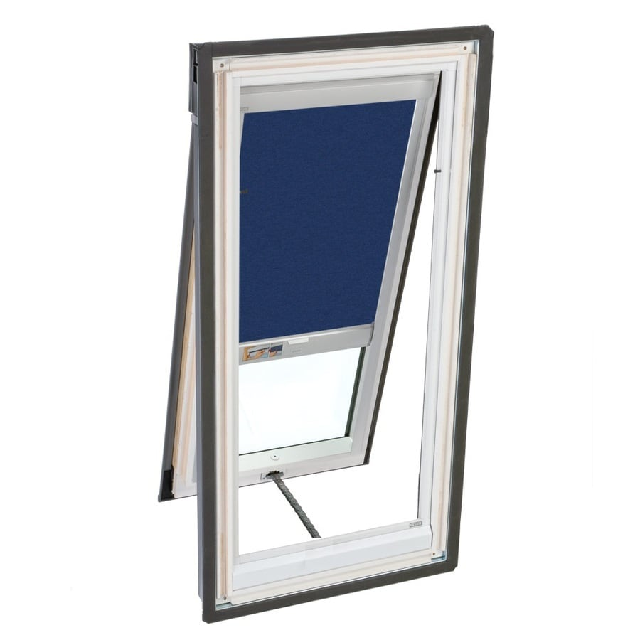 VELUX 44-3/4-in x 46-1/4-in x 5-in Venting Laminated Skylight with Solar-Powered Light-Blocking Shade