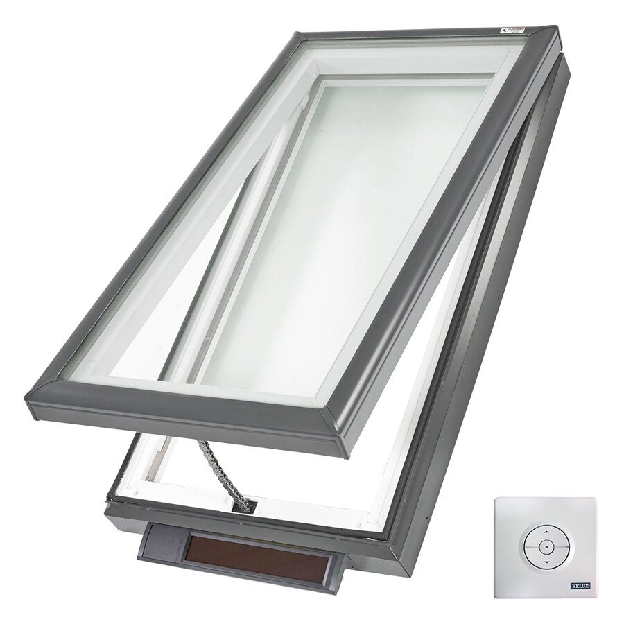 VELUX Solar-Powered Venting Laminated Skylight (Fits Rough Opening: 22.5-in x 34.5-in; Actual: 27.375-in x 39.375-in)