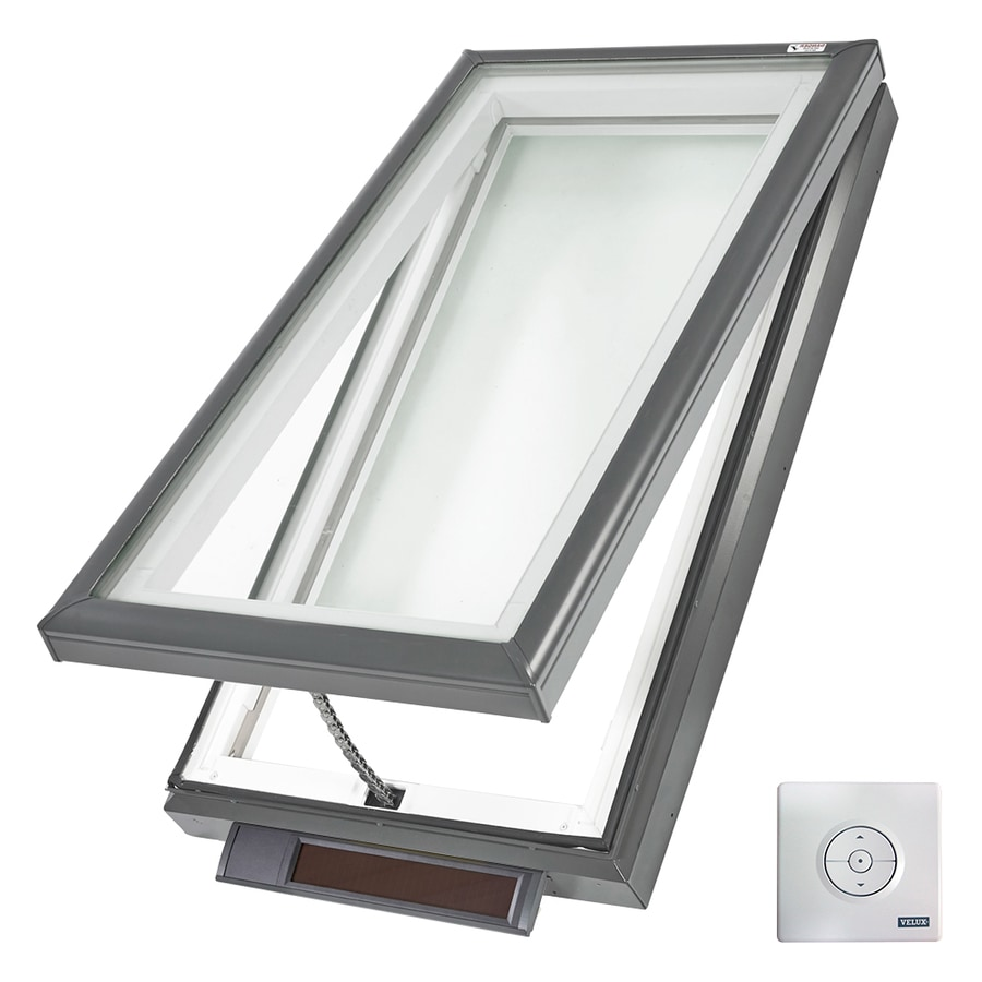 25 Captivating Ideas For Kitchens With Skylights: VELUX Solar-Powered Venting Laminated Skylight (Actual: 27