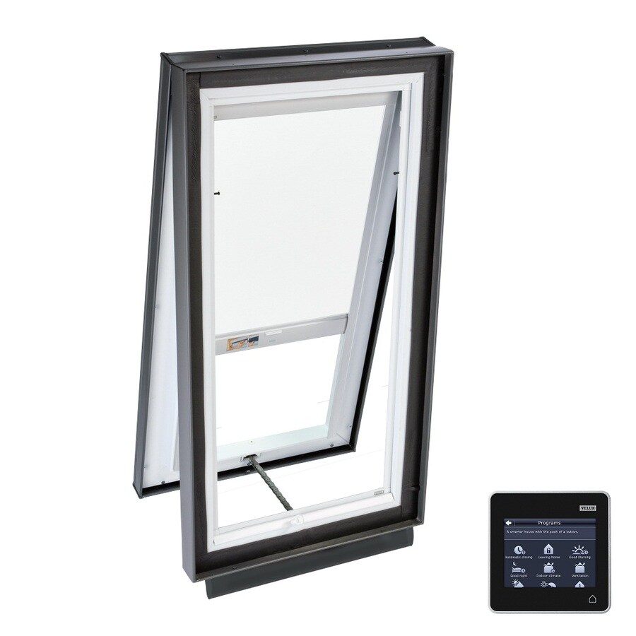 VELUX Solar-Powered Venting Laminated Solar-Powered Light-Filtering Skylight (Fits Rough Opening: 46.5-in x 46.5-in; Actual: 51.375-in x 51.375-in)