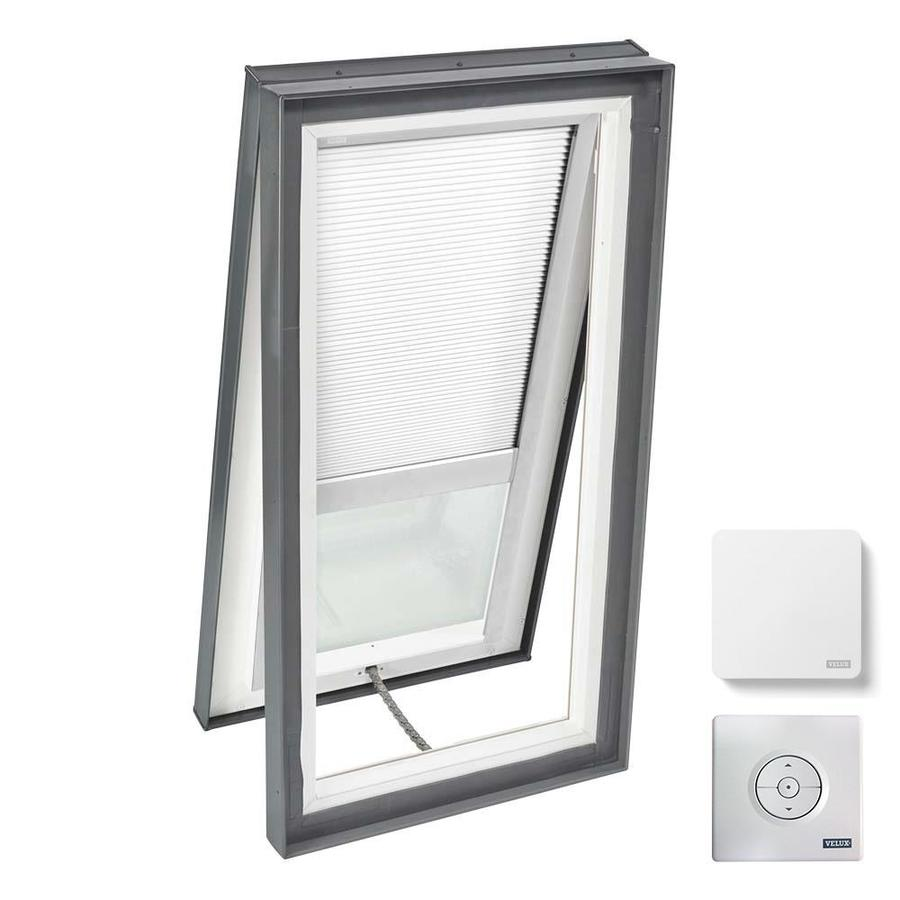 VELUX Venting Laminated Solar-Powered Light-Blocking Skylight (Fits Rough Opening: 22.5-in x 46.5-in; Actual: 27.375-in x 51.375-in)