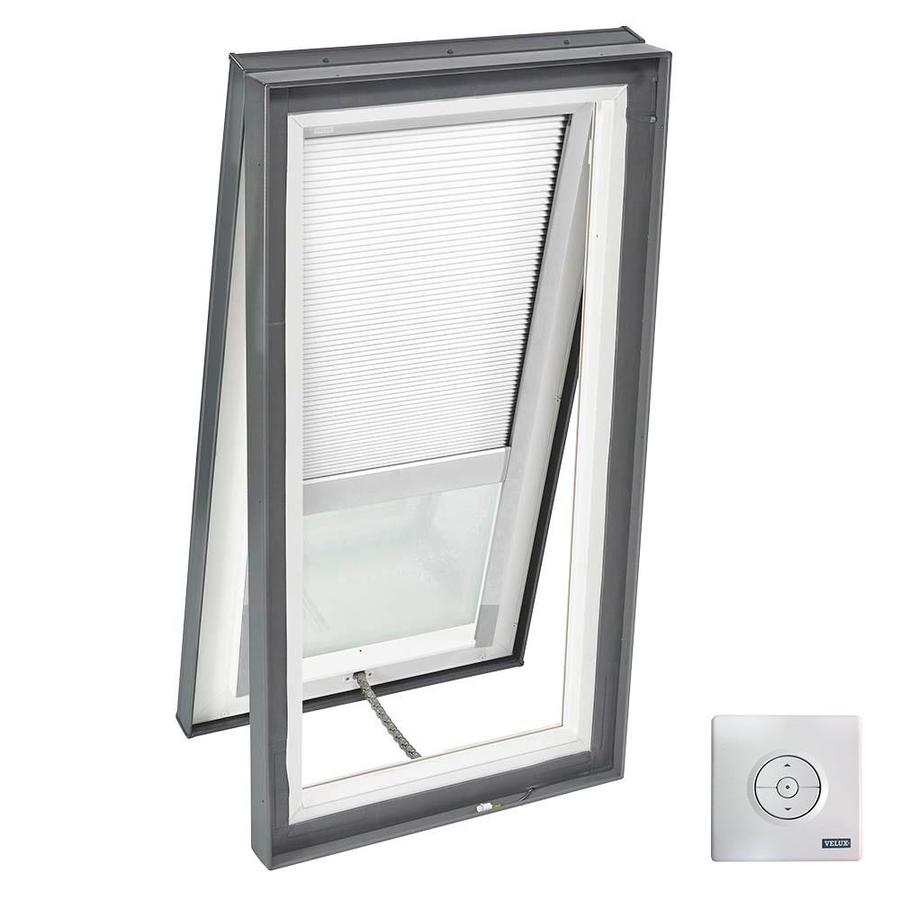 VELUX Solar-Powered Venting Laminated Solar-Powered Light-Blocking Skylight (Fits Rough Opening: 22.5-in x 46.5-in; Actual: 27.375-in x 51.375-in)