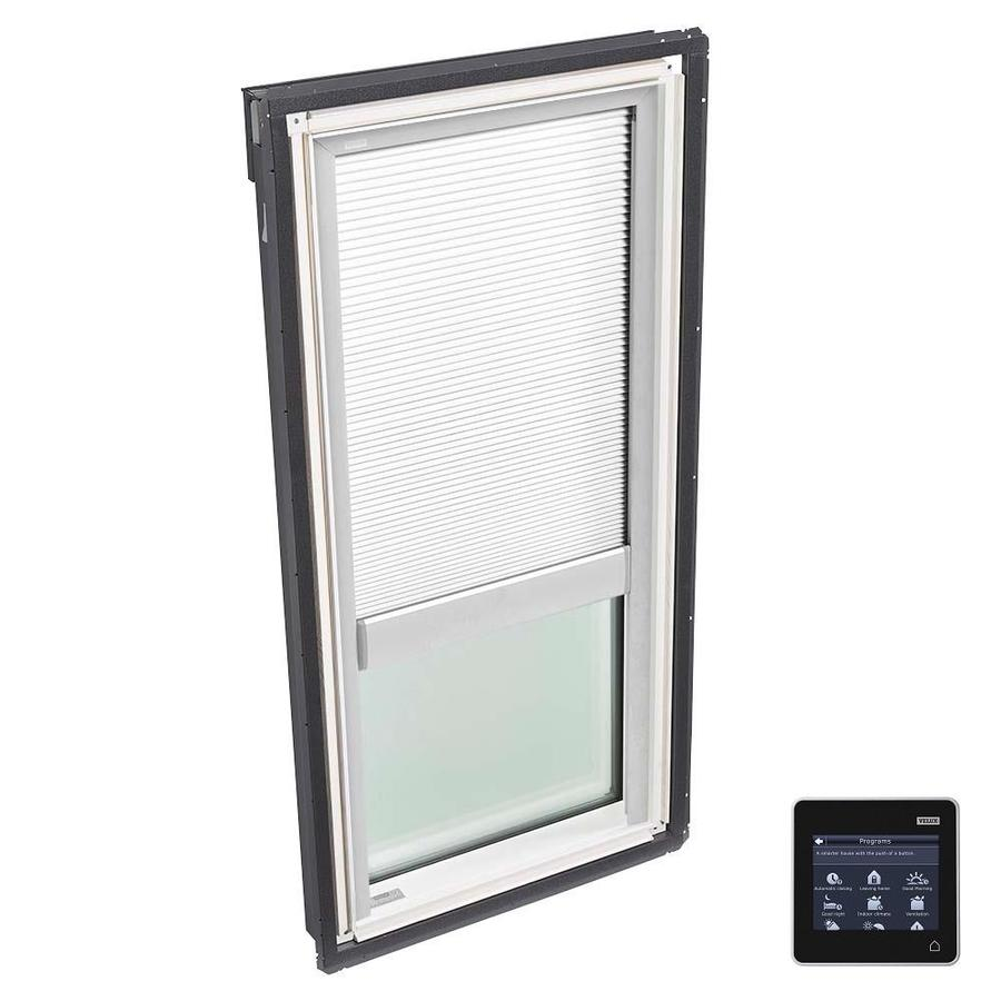 VELUX Fixed Tempered Solar-Powered Light-Blocking Skylight (Fits Rough Opening: 14.5-in x 45.75-in; Actual: 17.5-in x 48.75-in)