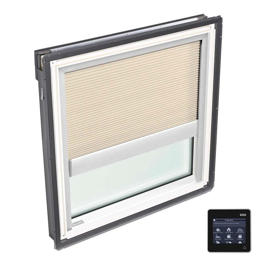 VELUX Fixed Tempered Solar-powered Light-blocking Skylight (Fits Rough Opening: 21-in x 26.88-in; Actual: 24-in x 29.88-in)
