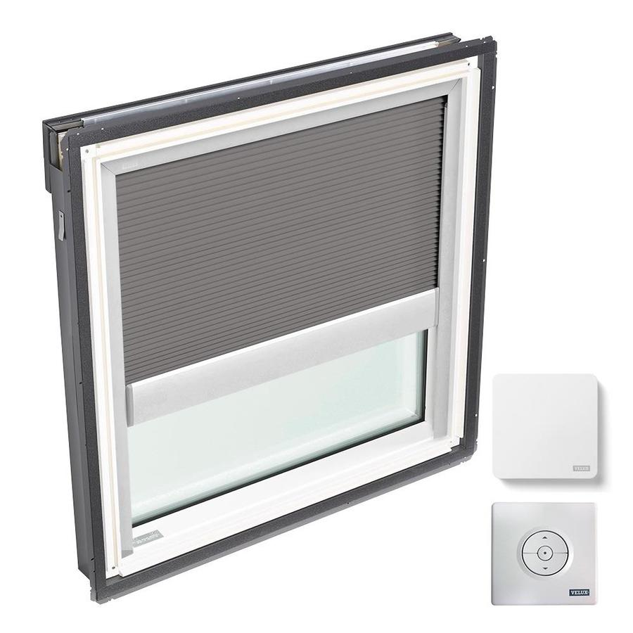 VELUX Fixed Laminated Solar-powered Light-blocking Skylight (Fits Rough Opening: 22.5-in x 22.94-in; Actual: 25.5-in x 25.94-in)