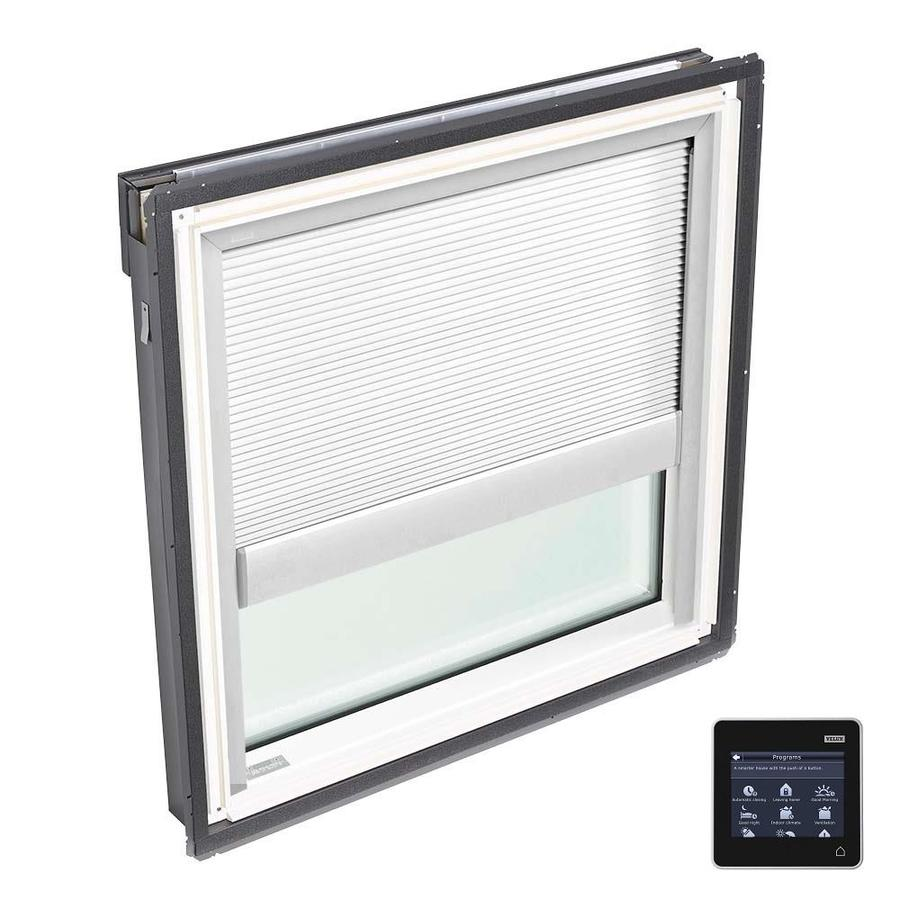 VELUX Fixed Tempered Solar-Powered Light-Blocking Skylight (Fits Rough Opening: 22.5-in x 22.94-in; Actual: 25.5-in x 25.94-in)