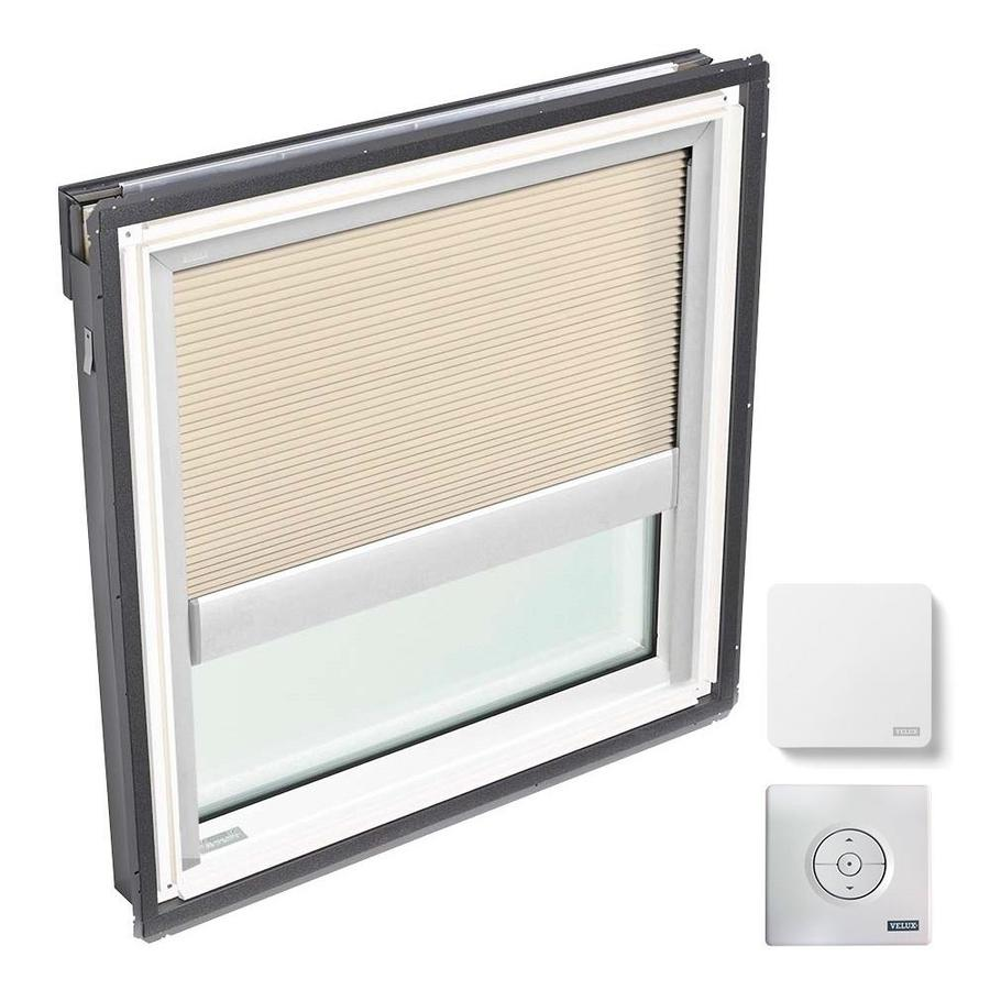 VELUX Fixed Laminated Solar-powered Light-blocking Skylight (Fits Rough Opening: 30.06-in x 30.0-in; Actual: 33.06-in x 33.0-in)