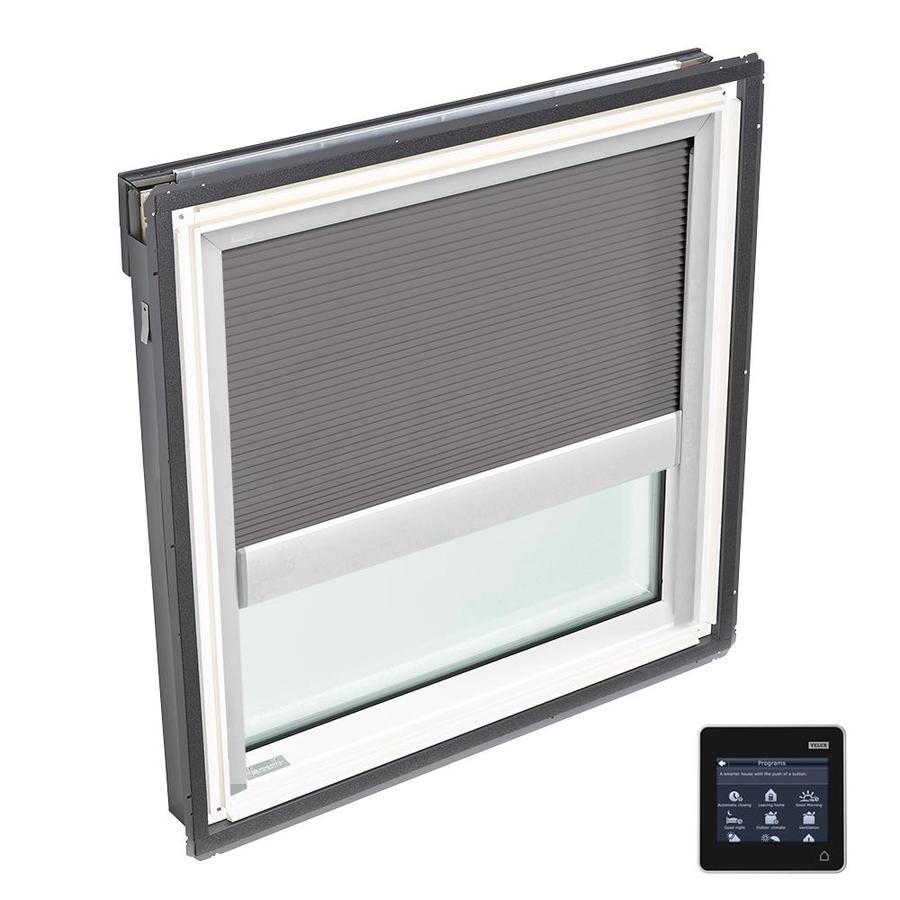 VELUX Fixed Tempered Solar-powered Light-blocking Skylight (Fits Rough Opening: 30.06-in x 30-in; Actual: 33.06-in x 33-in)