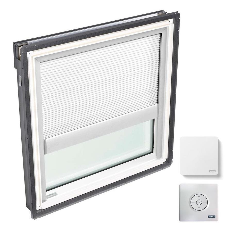 VELUX Fixed Laminated Solar-powered Light-blocking Skylight (Fits Rough Opening: 30.06-in x 37.88-in; Actual: 33.06-in x 40.88-in)