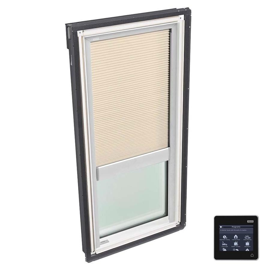 VELUX Fixed Tempered Solar-Powered Light-Blocking Skylight (Fits Rough Opening: 30.06-in x 54.44-in; Actual: 33.06-in x 57.44-in)