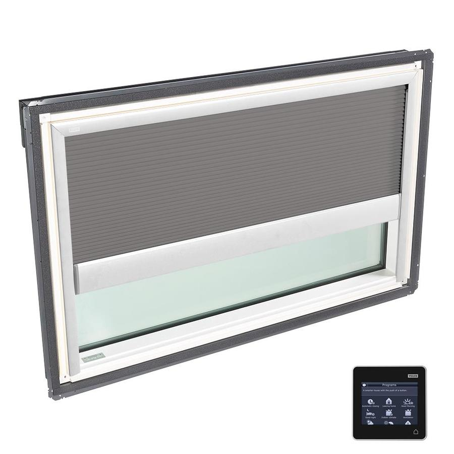 VELUX Fixed Tempered Solar-Powered Light-Blocking Skylight (Fits Rough Opening: 44.25-in x 26.88-in; Actual: 47.25-in x 29.88-in)
