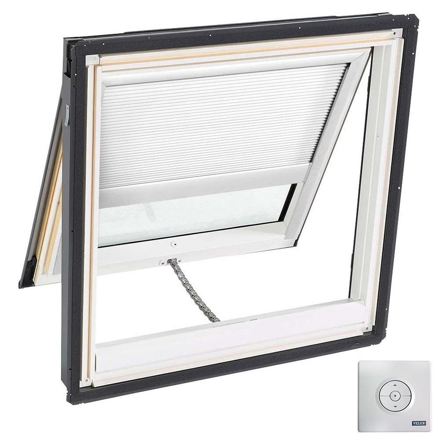 VELUX Solar-Powered Venting Laminated Solar-Powered Light-Blocking Skylight (Fits Rough Opening: 44.25-in x 45.75-in; Actual: 47.25-in x 48.75-in)
