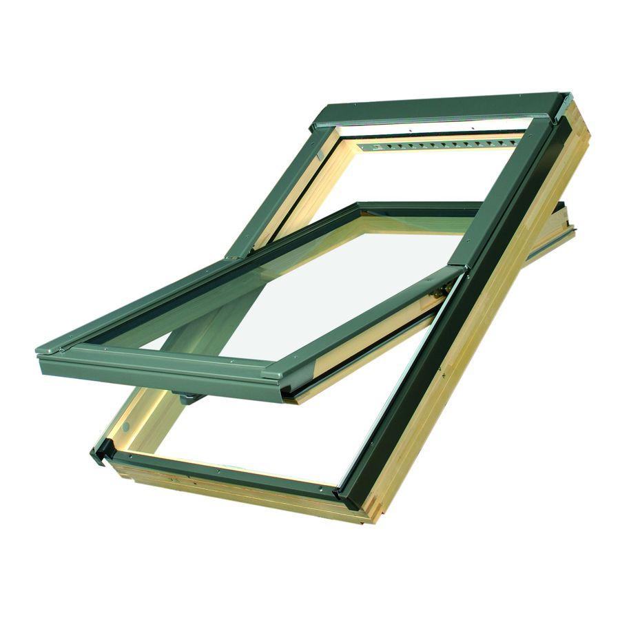 FAKRO Venting Laminated Skylight (Fits Rough Opening: 32.25-in x 48.25-in; Actual: 32.25-in x 48-in)