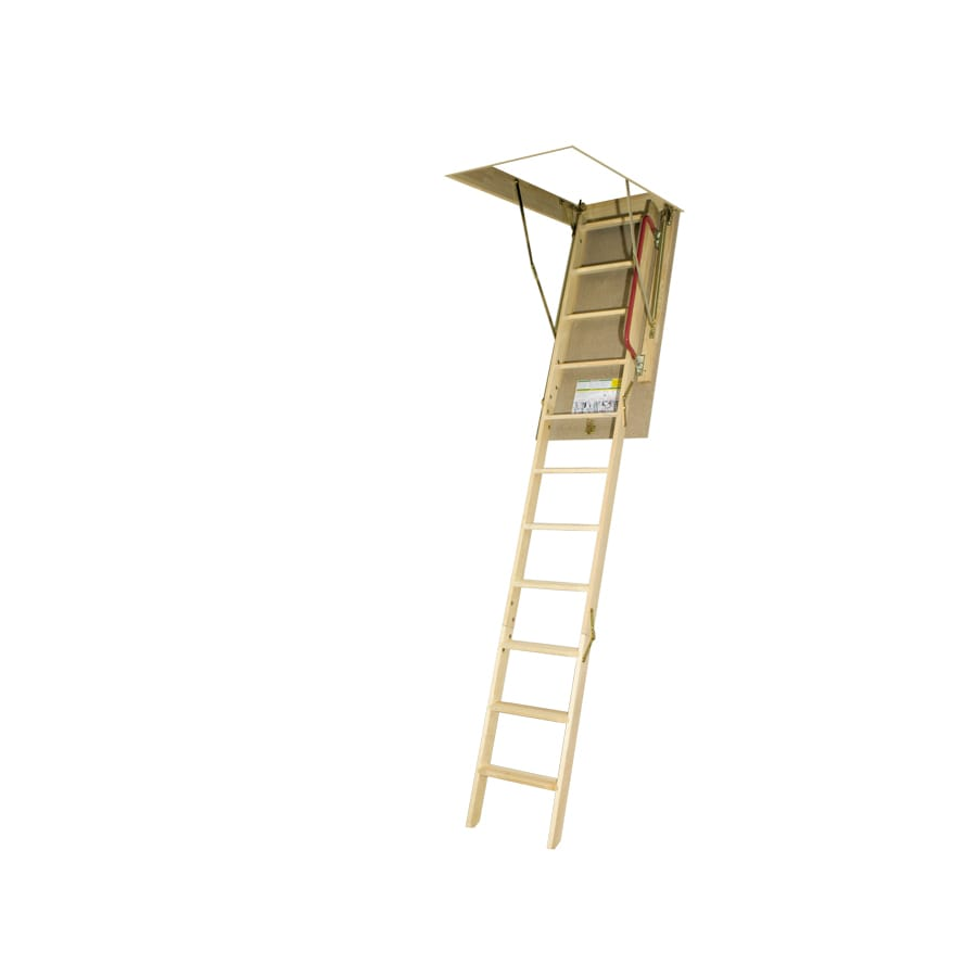 FAKRO LWN-P - Non Insulated 7.83-ft to 10.08-ft Type IA Wood Attic Ladder