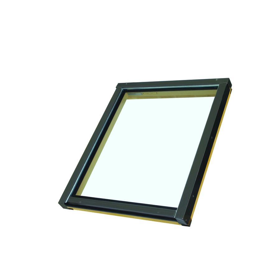 FAKRO Fixed Tempered Skylight (Fits Rough Opening: 30.5-in x 37.5-in; Actual: 30.5-in x 37.65-in)