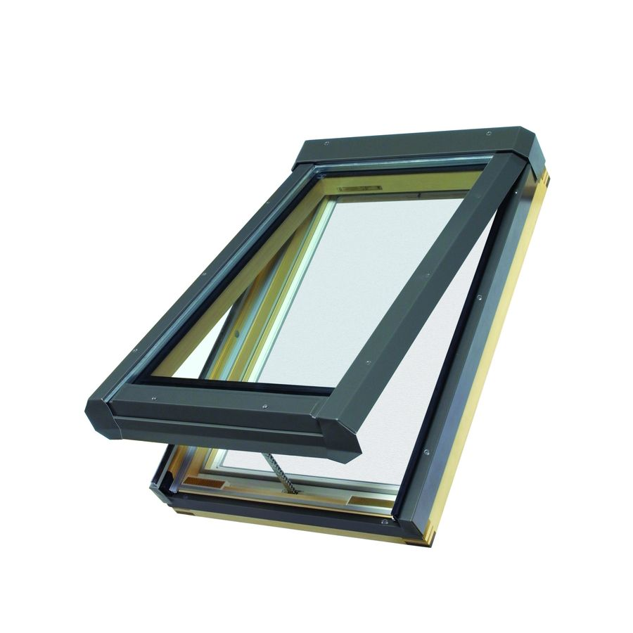 FAKRO Venting Tempered Skylight (Fits Rough Opening: 22.5-in x 45.5-in; Actual: 22.5-in x 45.75-in)