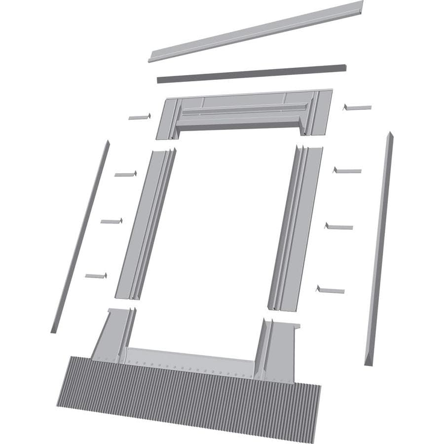 FAKRO EHW Aluminum Deck Mount Skylight Flashing Kit
