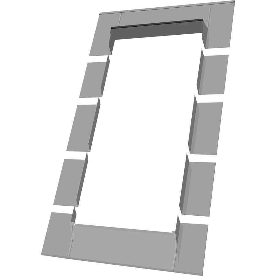 FAKRO ELN Aluminum Flashing Kit for Skylights