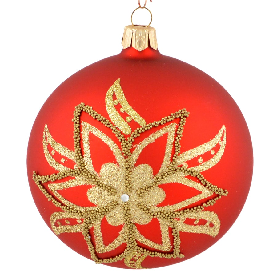 Holiday Living Red Ball Ornament