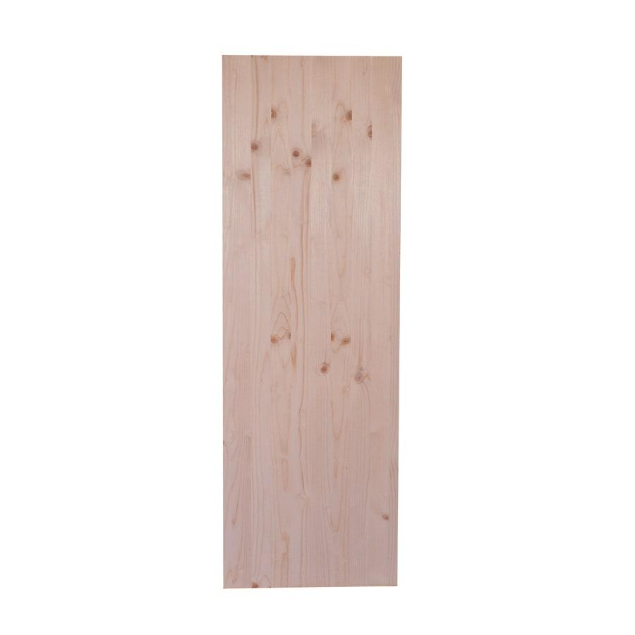 (Common: 3/4-in x 20-in x 3-ft; Actual: 0.62-in x 19.25-in x 3-ft) Spruce Pine Fir Board