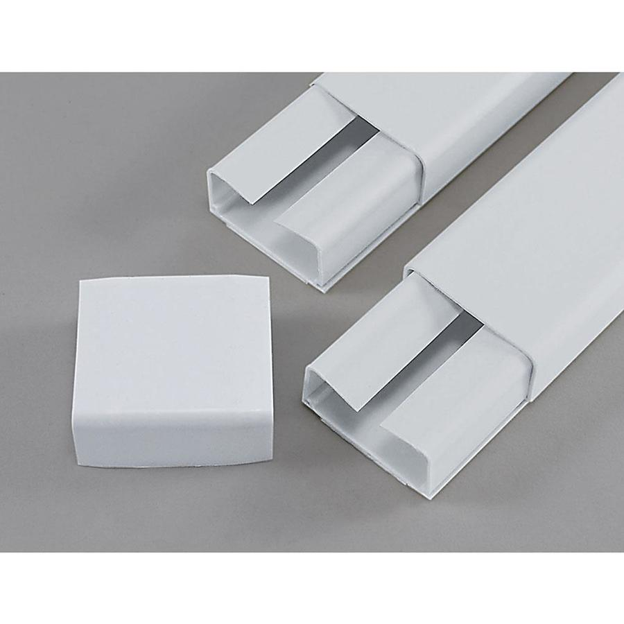 shop mono systems inc cablehider ultra 3 piece white cord cover kit at. Black Bedroom Furniture Sets. Home Design Ideas