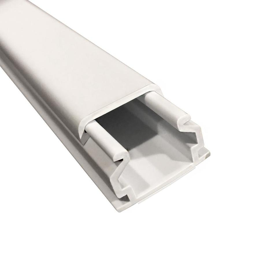 Shop Monosystems Cablehider 1 Piece 60 In L White Raceway At How To Hide Wiring Behind Baseboard Or Installing A Page 2 Of