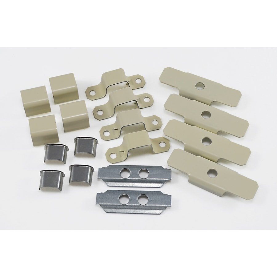 Mono-Systems, Inc. Metal 700 accessory pack 2 couplings, 4 joint covers, 4 bushings, 4 mounting straps and 4 mounting clips