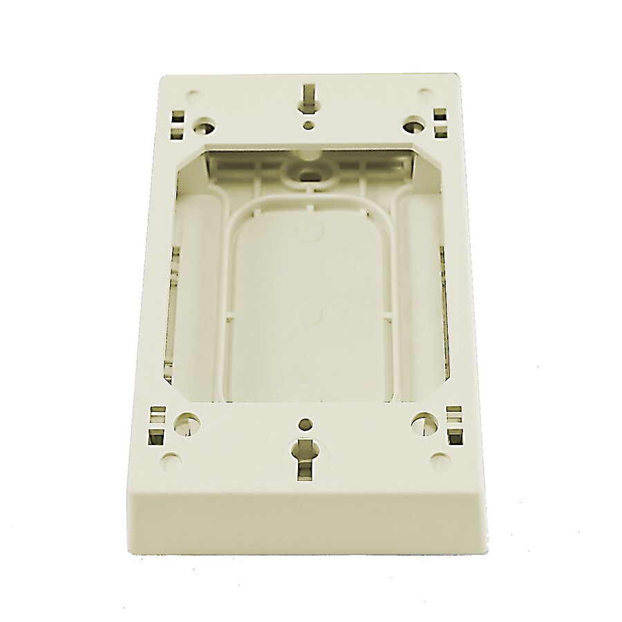 Mono-Systems, Inc. 1-Gang Off-White Plastic Old Interior Electrical Box