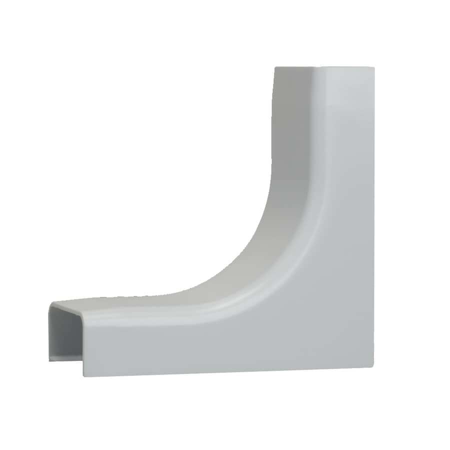 Mono-Systems, Inc. 1-Piece White Raceway Inside Elbow