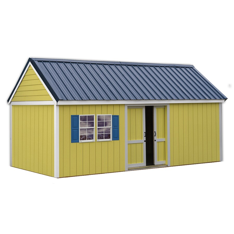 Shop Best Barns Common 10 Ft X 20 Ft Interior