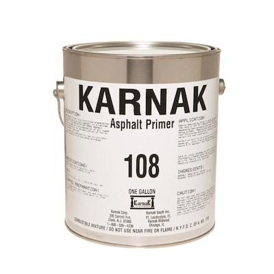 KARNAK 108 Asphalt Primer 128-fl oz Roof Seam Primer at