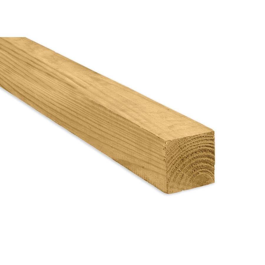 Severe Weather (Common: 4-in x 4-in x 12-ft; Actual: 3.5-in x 3.5-in x 12-ft) Pressure Treated Lumber