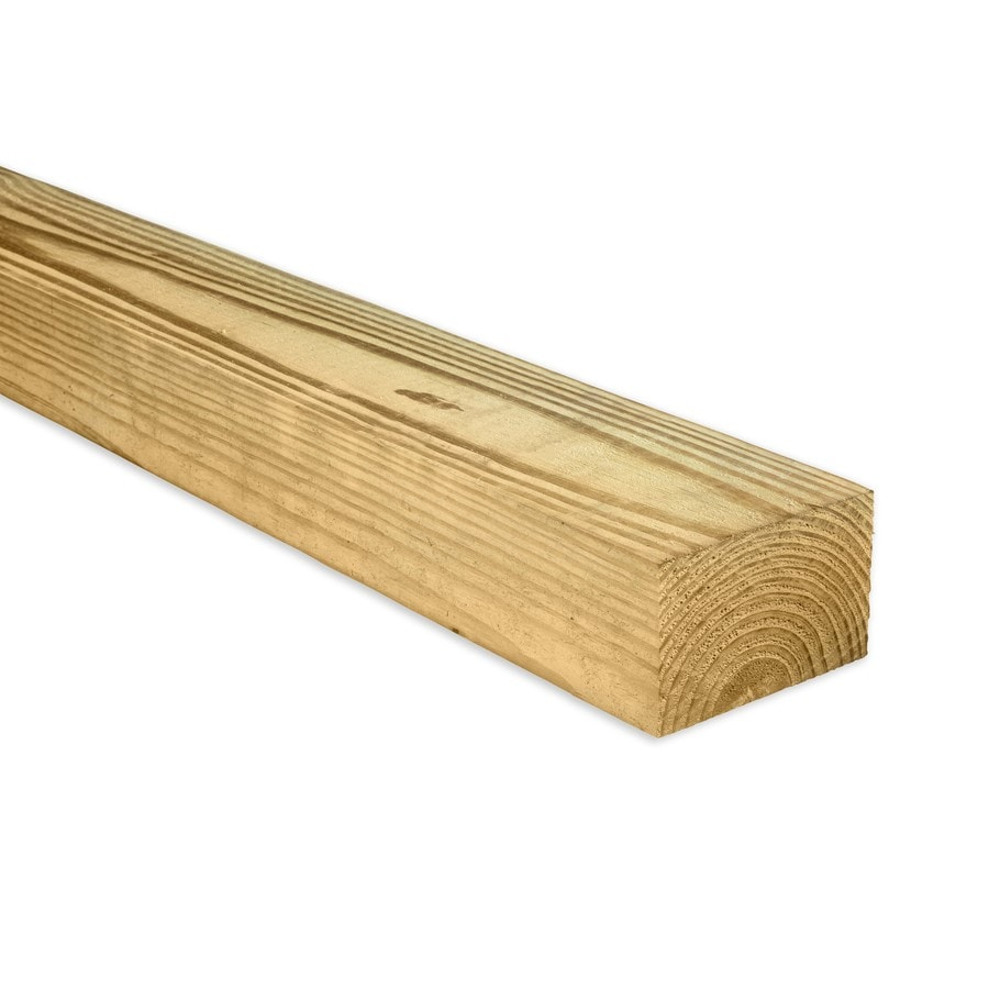 Severe Weather Pressure Treated (Common: 4-in x 6-in x 16-ft; Actual: 3.5-in x 5.5-in x 16-ft) Lumber