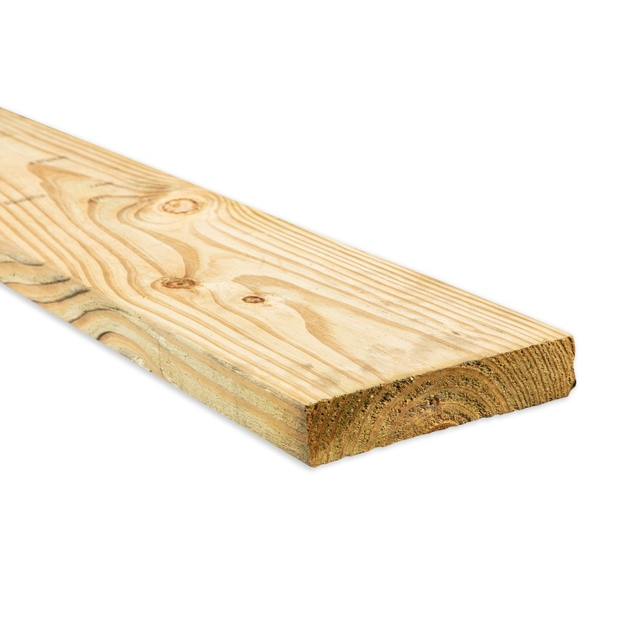 Top Choice (Common: 2-in x 8-in x 12-ft; Actual: 1.5-in x 7.25-in x 12-ft) Pressure Treated Lumber