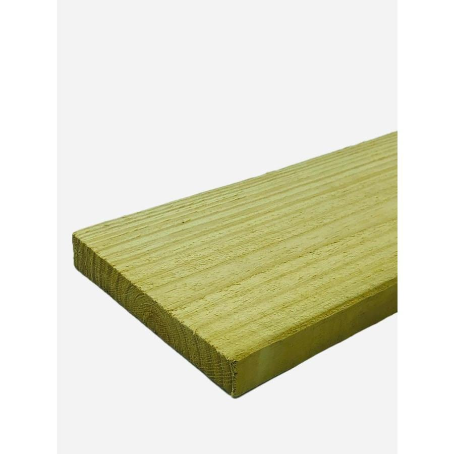 Severe Weather Pressure Treated Southern Yellow Pine Board (Common: 1-in x 6-in x 16-ft; Actual: 1-in x 6-in x 16-ft)