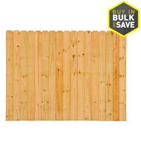 Pine Wood Fence Fence Panels At Lowes Com