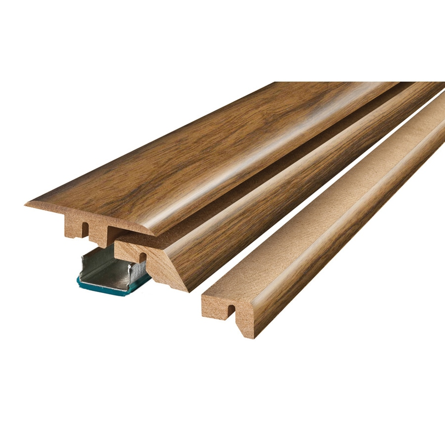 SimpleSolutions 2.375-in x 78.75-in Brown/Tan Maple 4-N-1 Floor Moulding