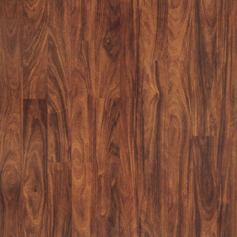Shop Pergo Max Smooth Mahogany Wood Planks Sample Vera