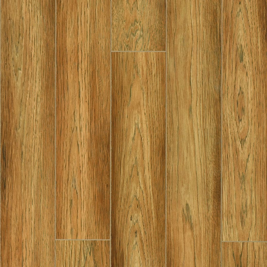 Pergo Max 4.92-in W x 3.99-ft L Madison Hickory Embossed Laminate Wood Planks