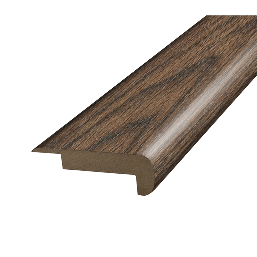 SimpleSolutions 2.37-in x 78.7-in Tanned Yew Stair Nose Floor Moulding