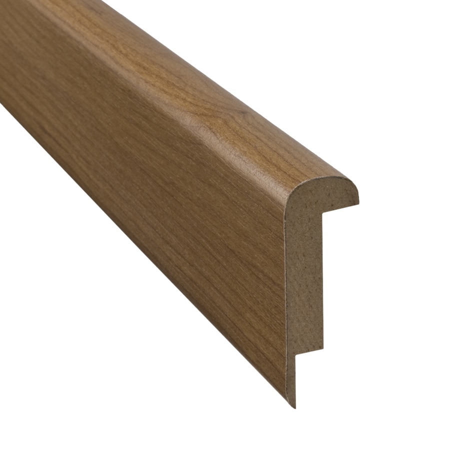 SimpleSolutions 2.37-in x 78.74-in Williamsburg Cherry Stair Nose Floor Moulding