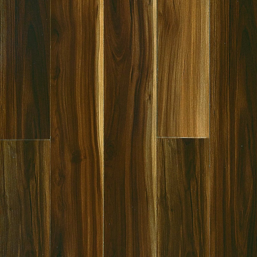 Pergo MAX 5-in W x 3.97-ft L Visconti Walnut Wood Plank Laminate Flooring