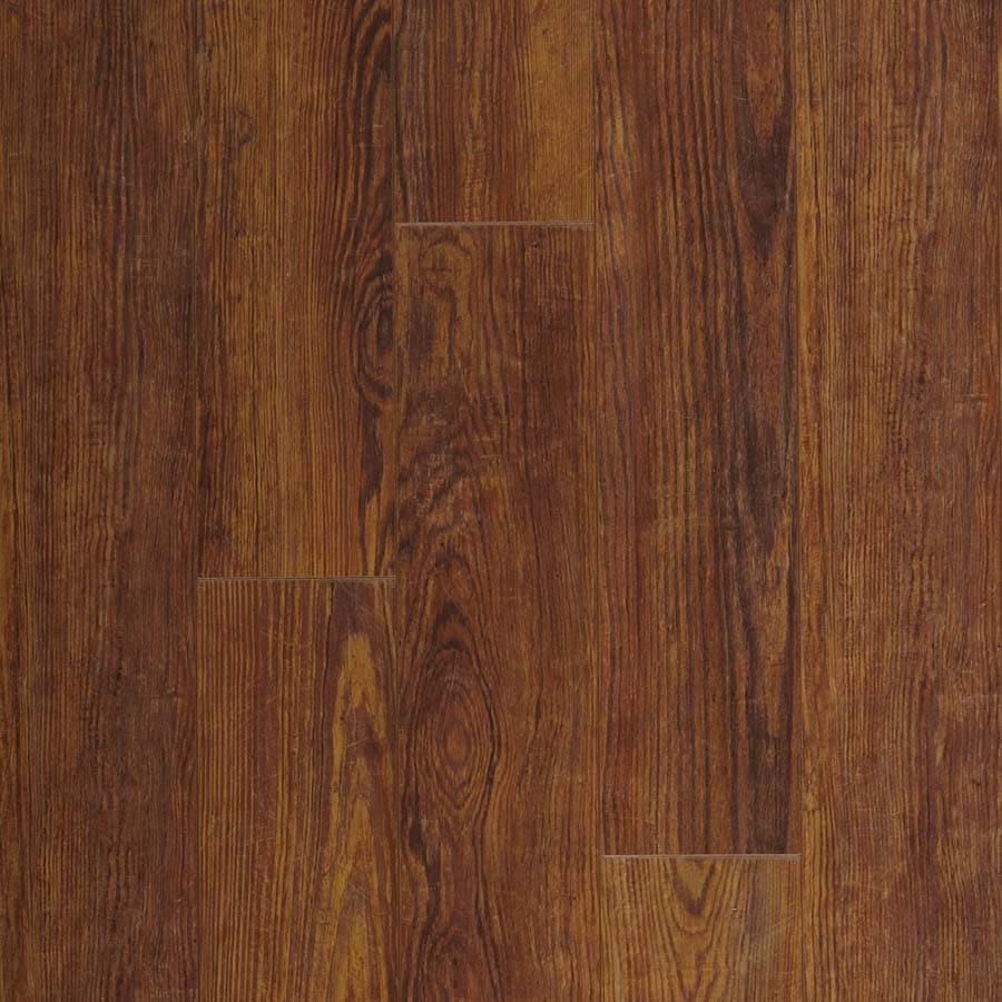 Pergo Max 5-3/8-in W x 47-9/16-in L Caldera Pine Laminate Flooring