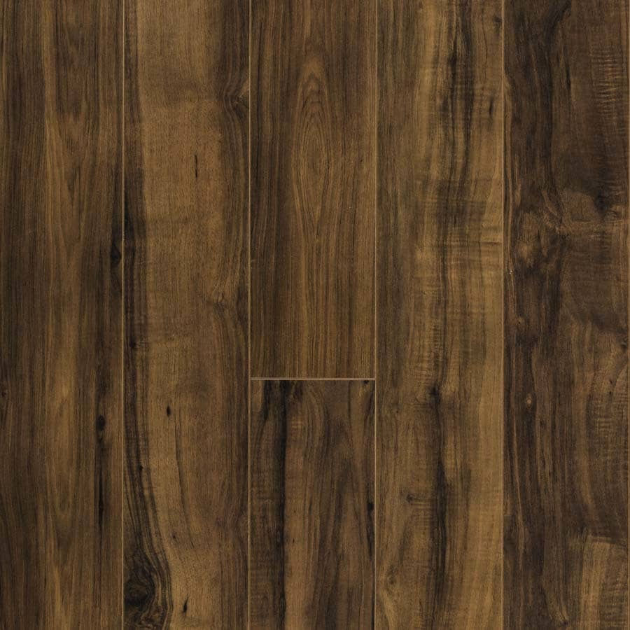 Shop pergo max w x l fairview pecan wood for Pergo laminate flooring