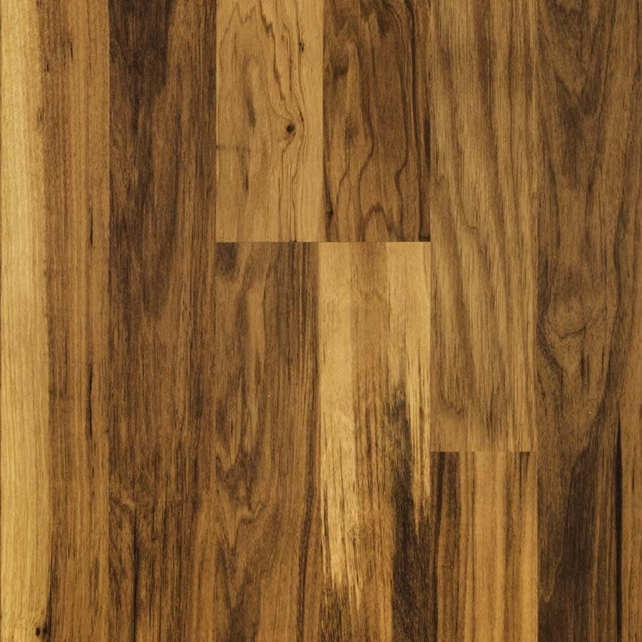 Shop pergo max w x l midland pecan wood for Pergo laminate flooring