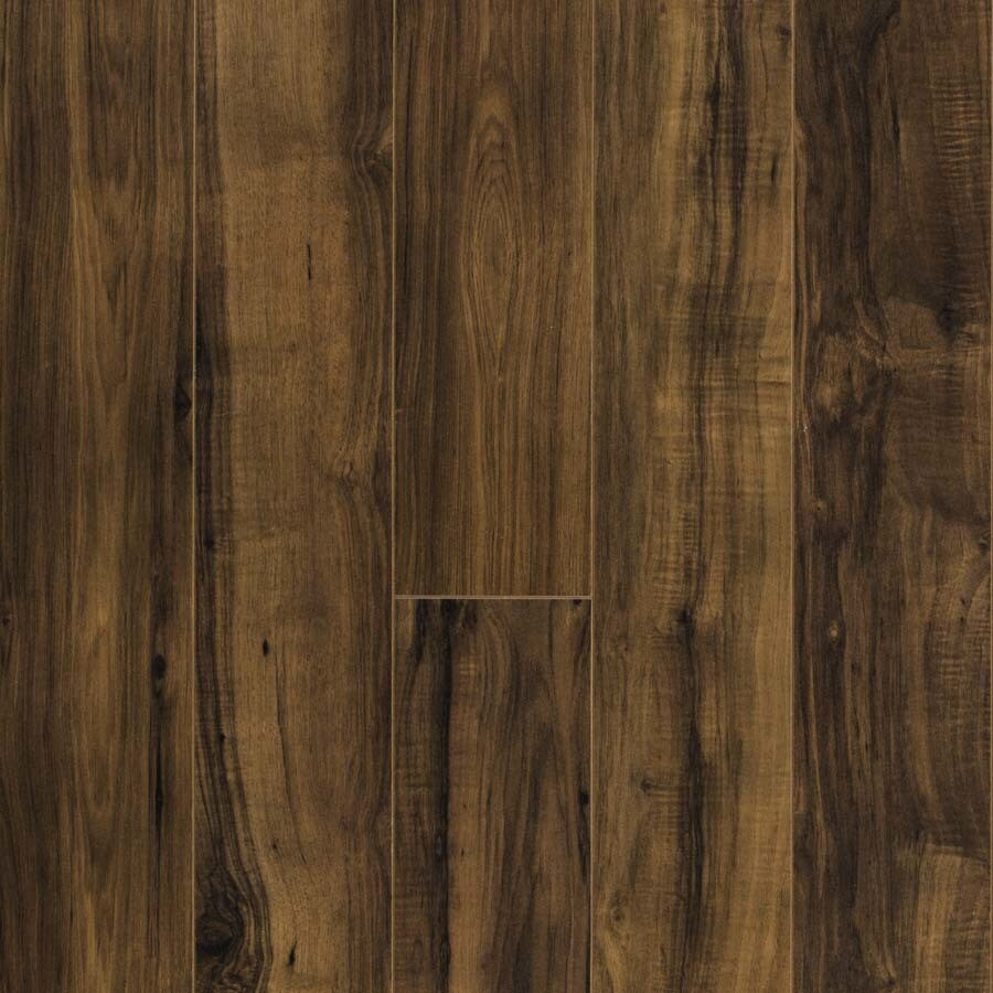 Shop pergo max fairview pecan wood planks laminate for Laminate flooring examples